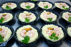 Coquilles de fruits de mer