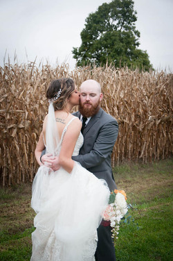 kissing corn chris