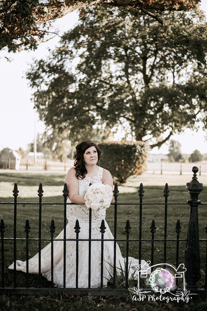 Fence and Bride