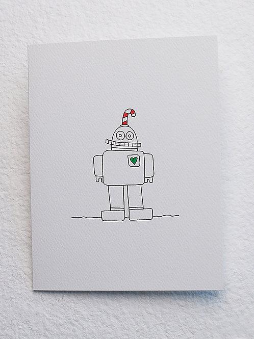Robot card (set of 10)