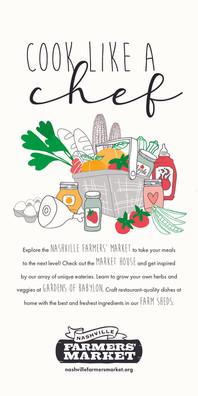 Nashville Farmers' Market illustration a