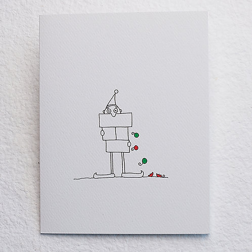 Elf card (set of 10)