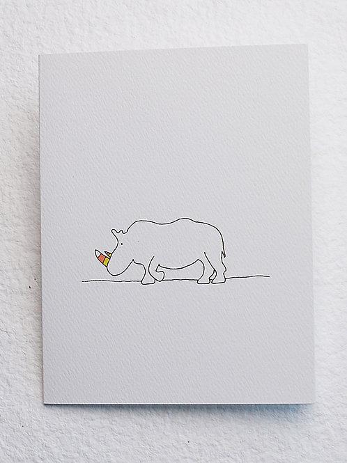 Rhino card (set of 10)