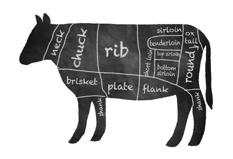 Cow CSA, editorial illustration
