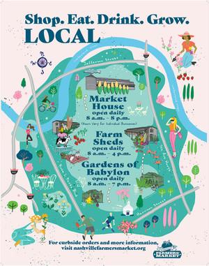 Nashville Farmers' Market spring summer hours