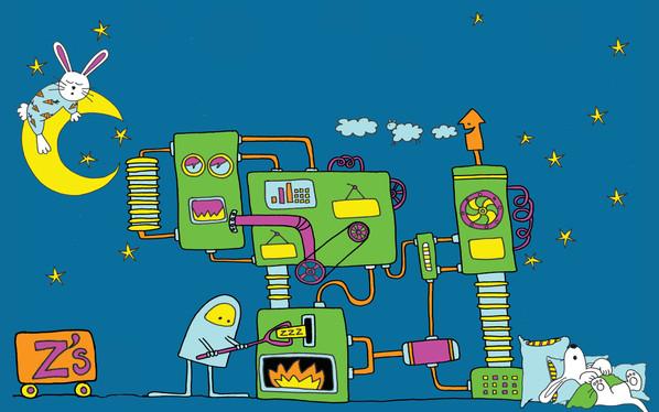 Children's book cover illustration