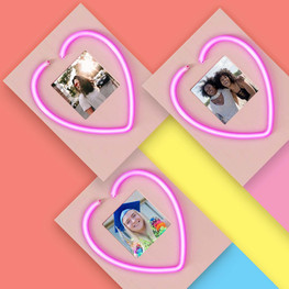 NEON PICTURE FRAME