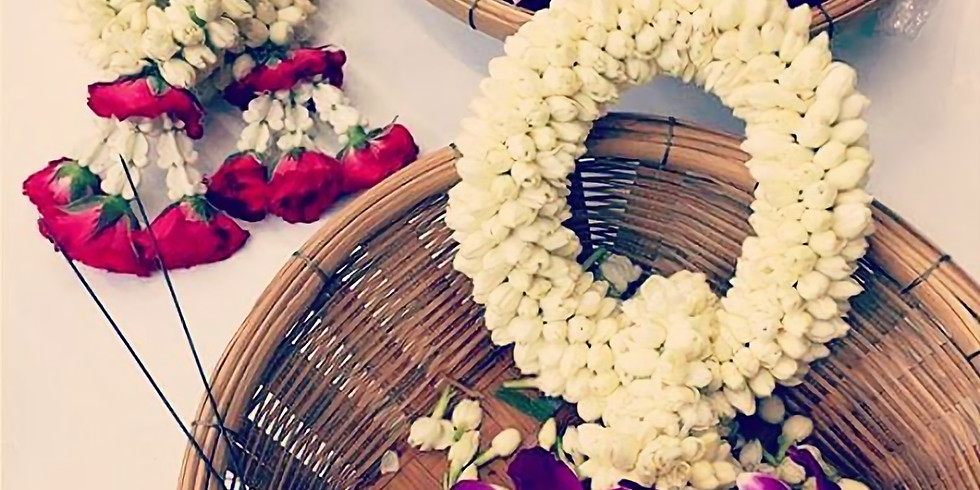 Discover Traditional Thai Floral Garland Making