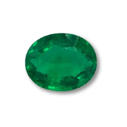 No Oil Emerald Oval 6.96 cts