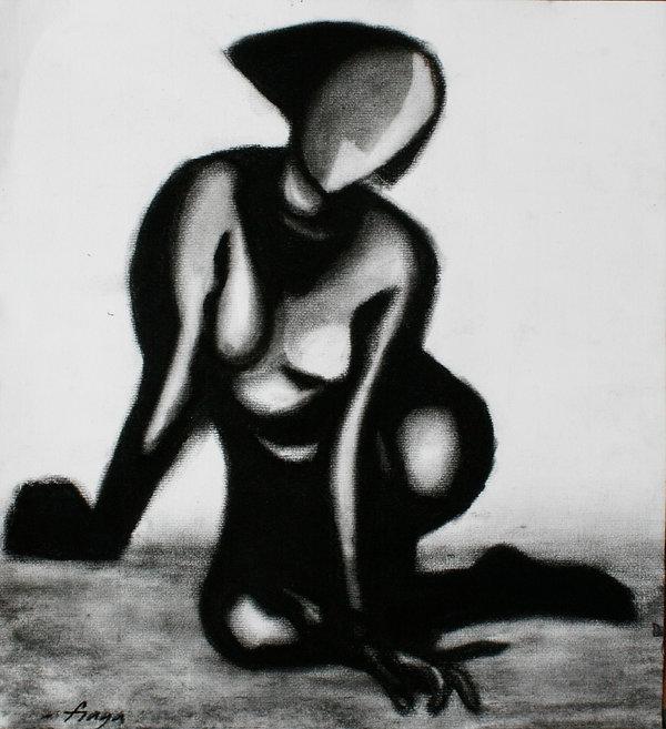 Estudio del cuerpo humano. 30 x 35 cm.ca