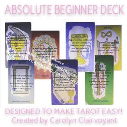 Absolute Tarot Deck