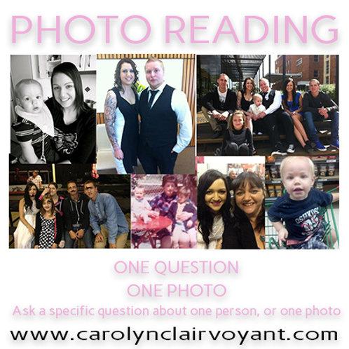 $15 Photo Reading