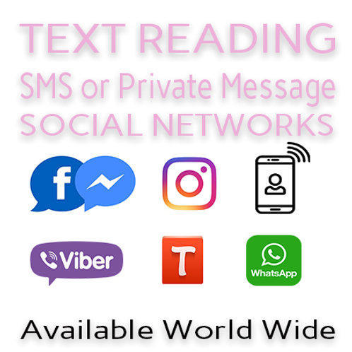 10 Minute Text / Talk Reading