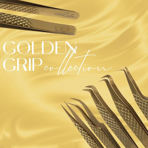 """Golden Grip"" Tweezers"