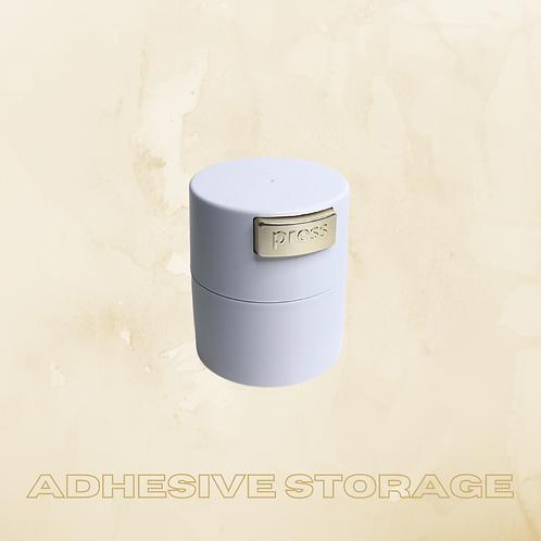 Adhesive Storage