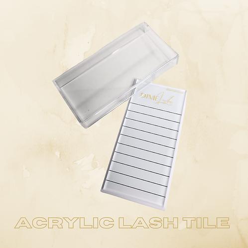 Acrylic Lash Tile & Cover