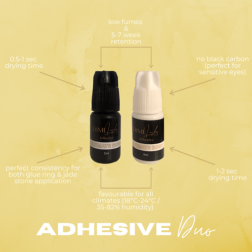 Adhesive Duo (Black & Clear)