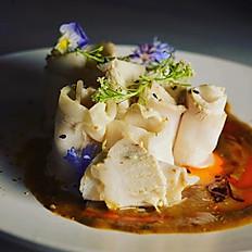 Pork Slices in garlic sauce