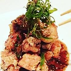 Chicken karaagewith Sichuan pepper sauce
