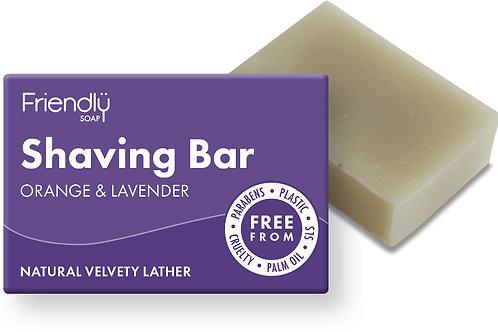 Natural Shaving bar