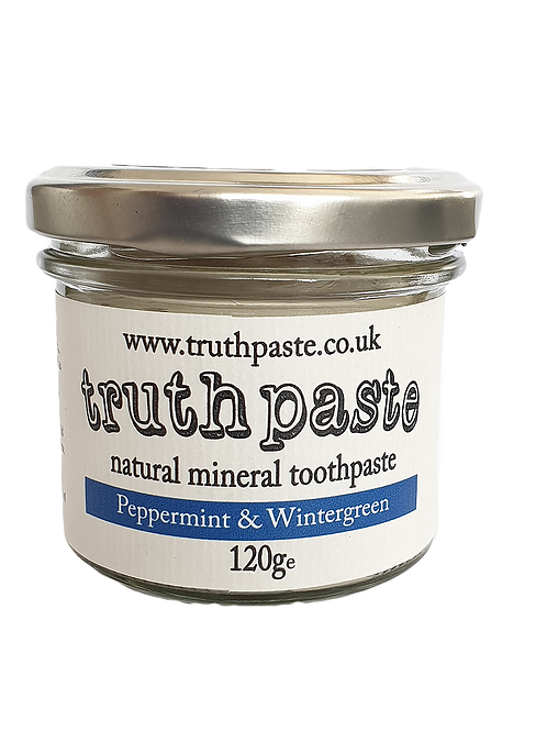 Natural mineral toothpaste (Peppermint and Wintergreen)
