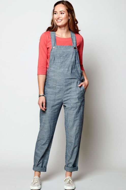Nomads Chambray Dungarees