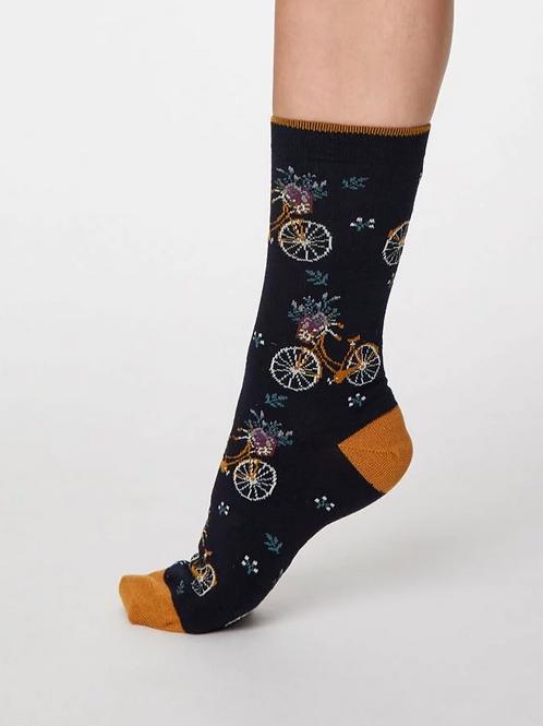 Ladies Bicicletta Bamboo Socks