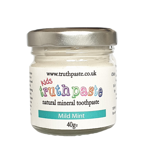 Kids natural mineral toothpaste (mild mint)