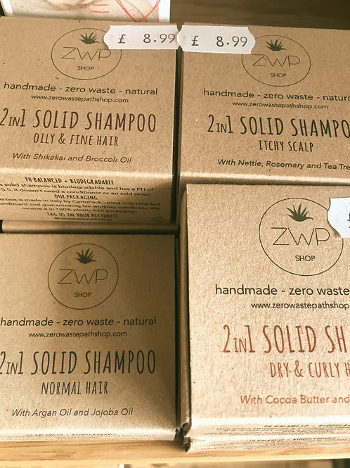 2 in 1 Solid Shampoo & Conditioner Bar