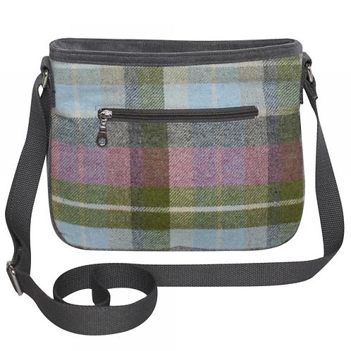 Tweed Rosy Messenger Bag