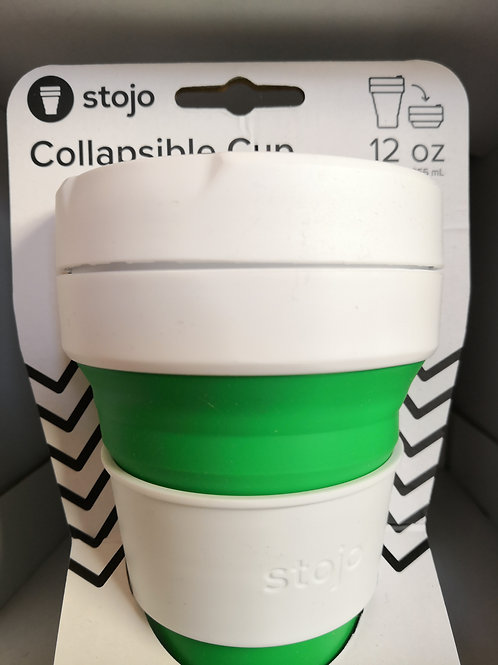 Stojo 12 oz collapsible cup