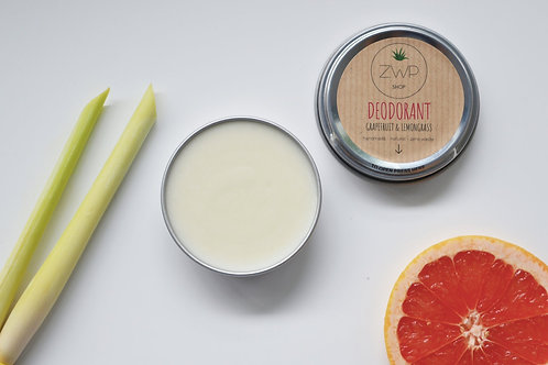 ZWP natural deodorant - Grapefruit & Lemongras