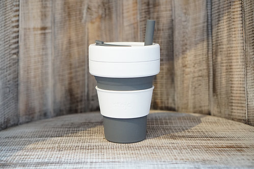 Stojo 16 oz collapsible cup