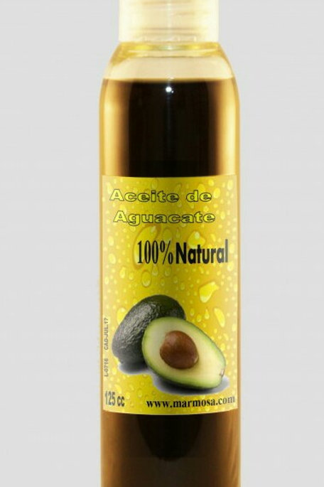 100 % natural avocado oil