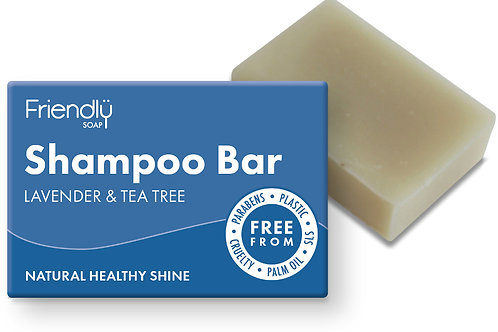 Natural Shampoo bar (lavender & tea tree)