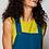 Thumbnail: Needlecord Dungaree Pinafore Tunic Dress