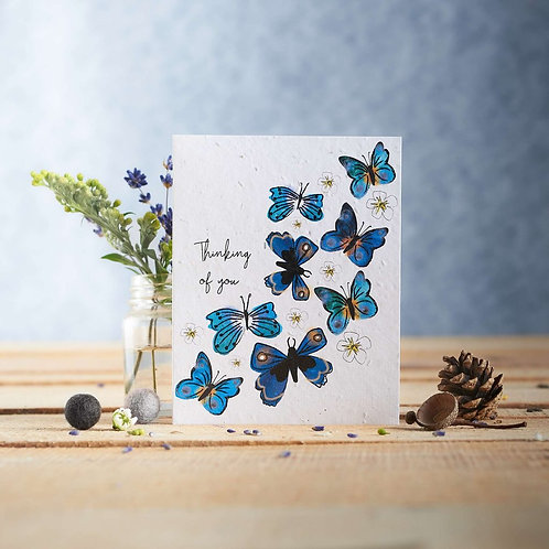 Thinking of you - plantable seed card