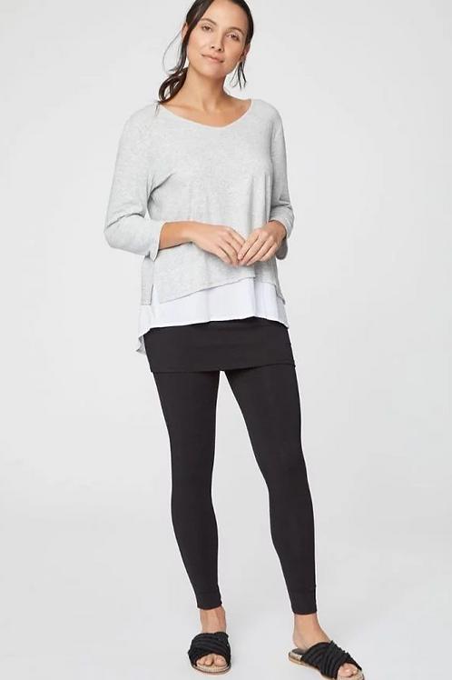 Black Jay Skirt-Cover Legging