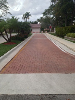 paver post stain