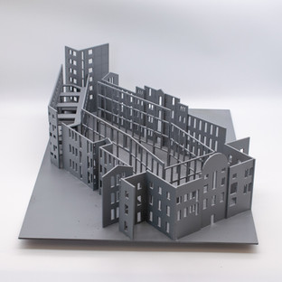 Model of Courtyard