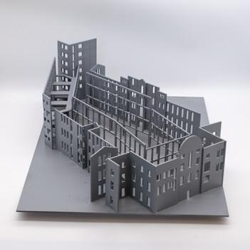 Model of Courtyard