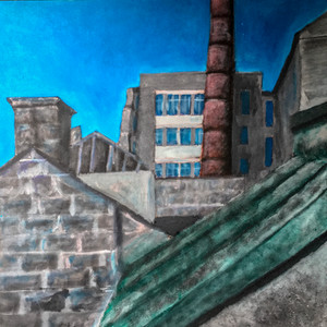 Concept Painting (Woolmanhill Hospital)
