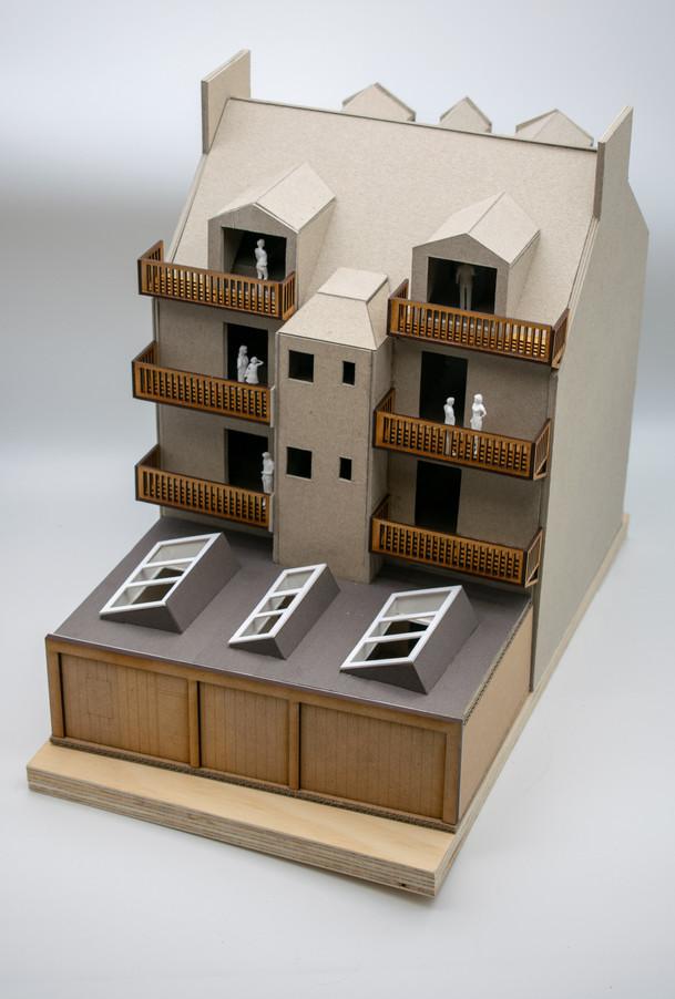 1:50 Tenement Model Photo