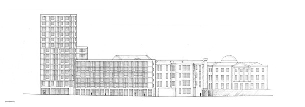 Spa Street Elevation
