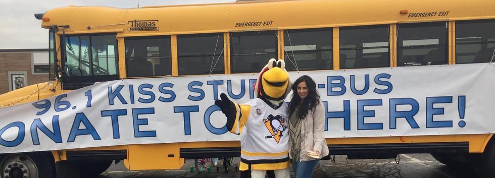 Stuff a Bus fundraiser
