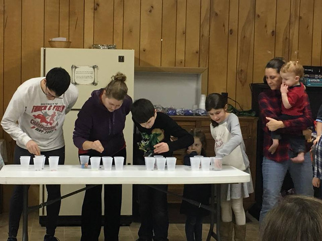 New Year's Eve Minute to Win It!