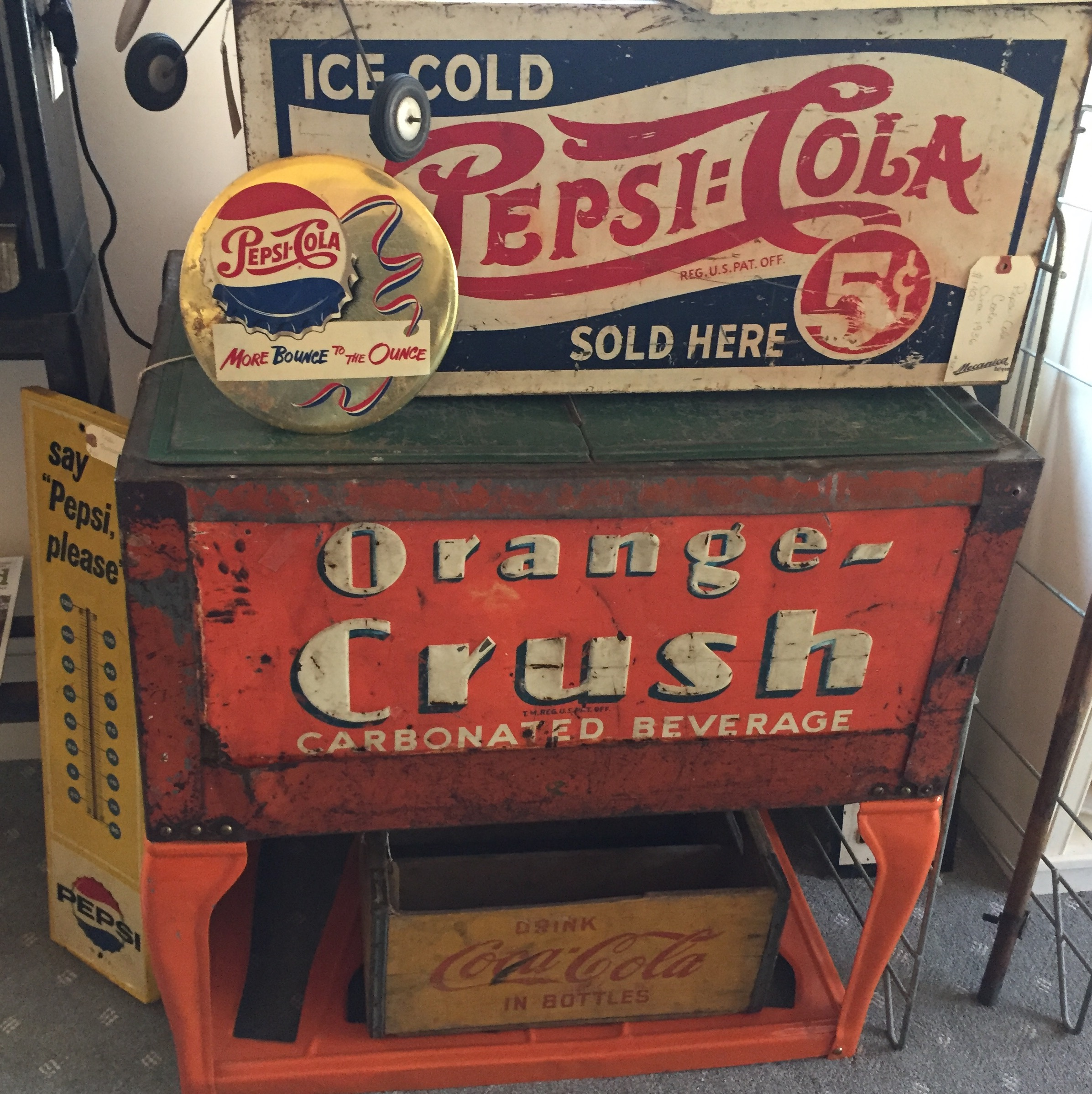 Pepsi & Orange Crush Coolers