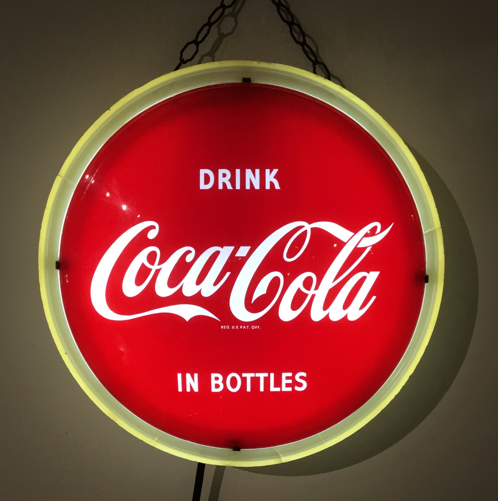 Coca Cola Halo Light