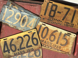Pairs of License Plates
