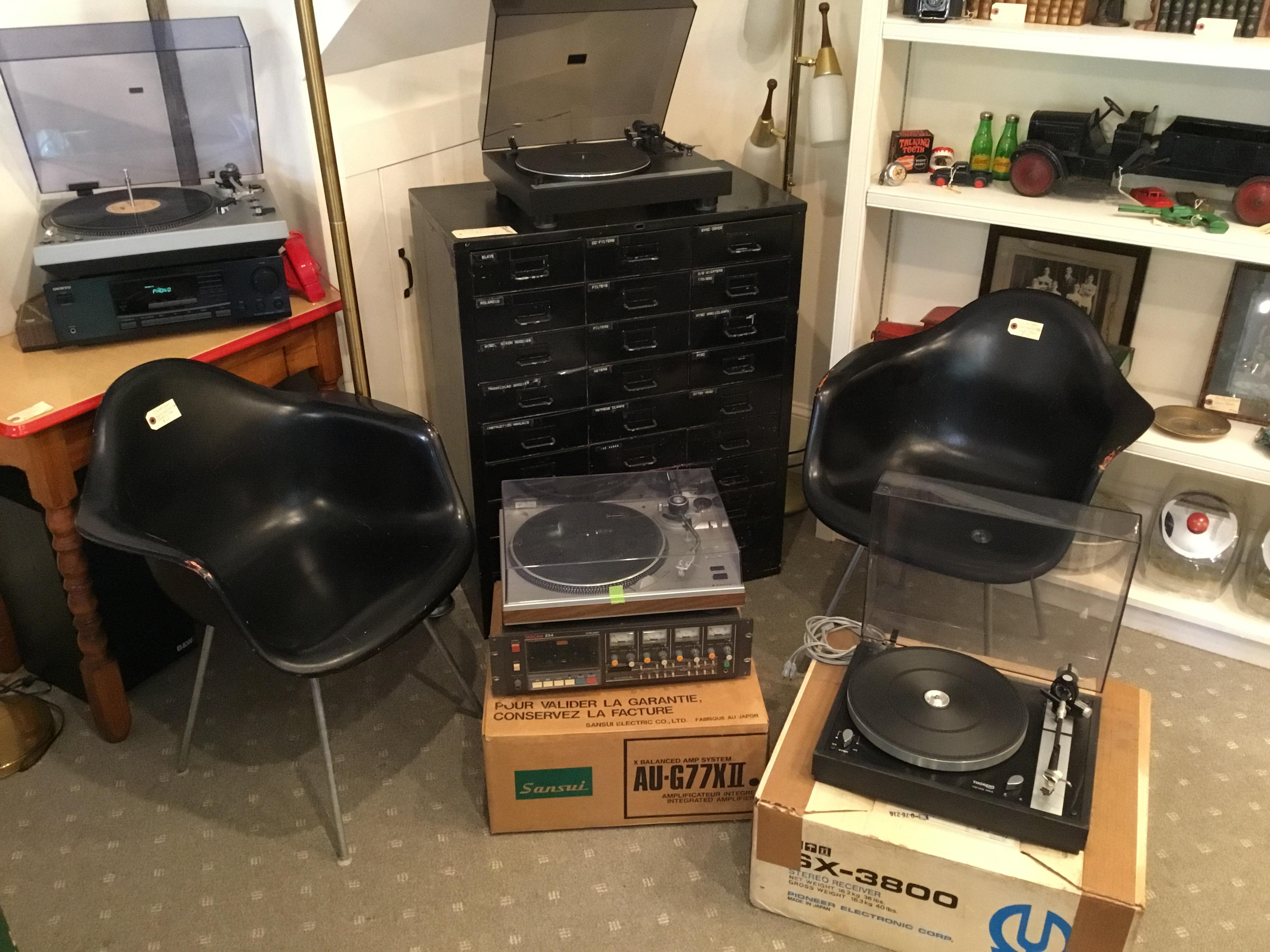 Lots of Audio and Eames Chairs